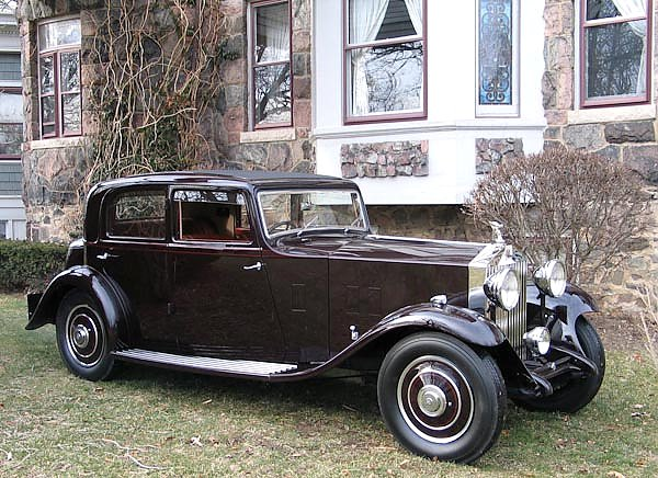 Rolls-Royce 20 25 Saloon by Thrupp & Maberly '1932