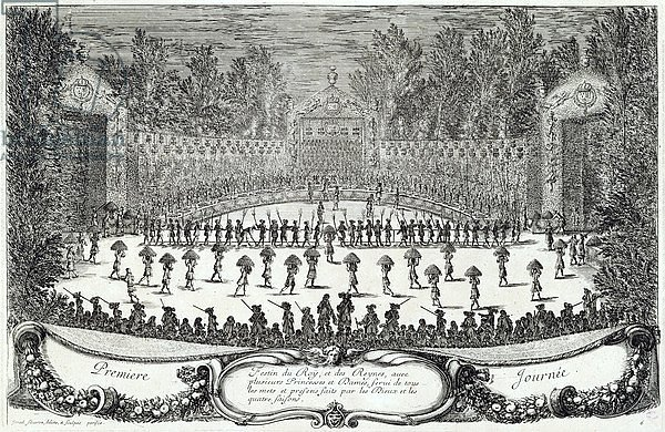 The First Day of the Festival of 'Les Plaisirs de l'Ile Enchantee', 7th May 1664