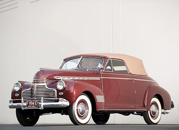 Chevrolet Special Deluxe Convertible '1941