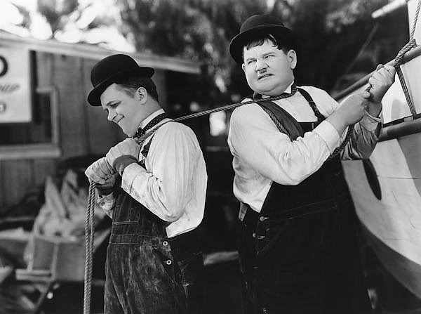 Laurel & Hardy (Towed In A Hole) 2