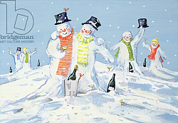 Постер Кук Давид (совр) The Snowmen's Party