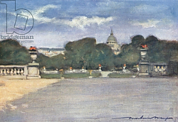 Постер Менпес Мортимер The Tuileries Gardens