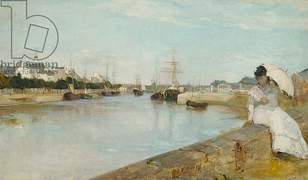 The Harbour at Lorient, 1869