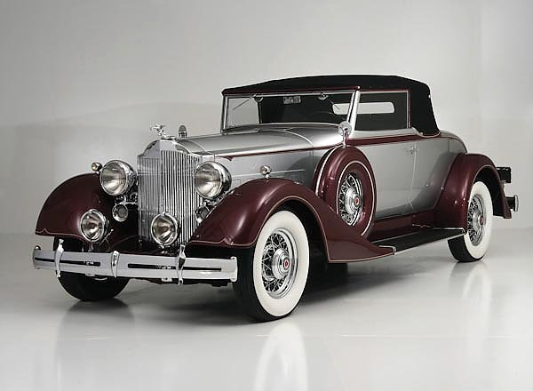 Packard Eight Coupe Roadster '1934