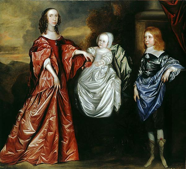 Anne, Philadelphia and their brother Thomas Wharton , later 5th Lord Wharton