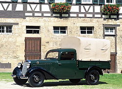 Постер Mercedes-Benz 170V Pickup (W136) '1946–49