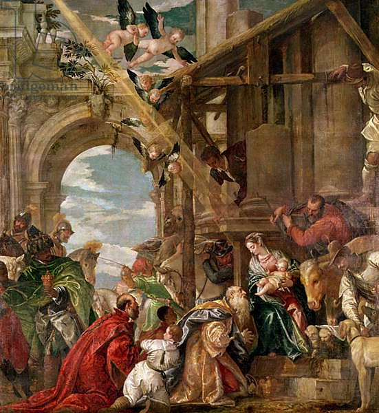 Adoration of the Kings, 1573