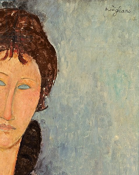 Woman with Blue Eyes, c.1918