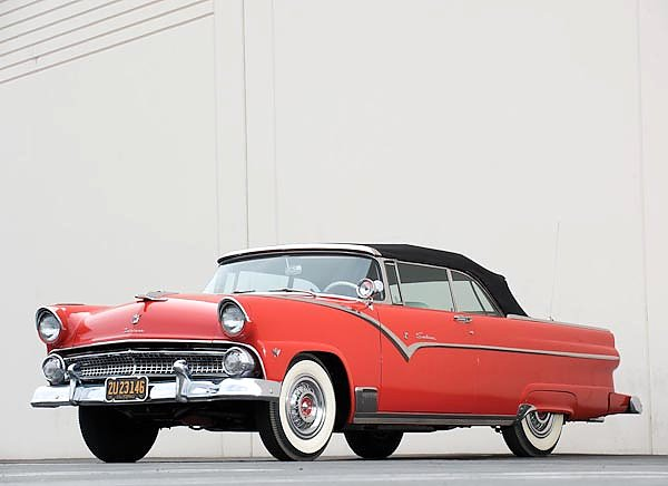 Ford Fairlane Sunliner Convertible '1955