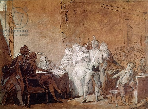 The Arrest of Charlotte Corday