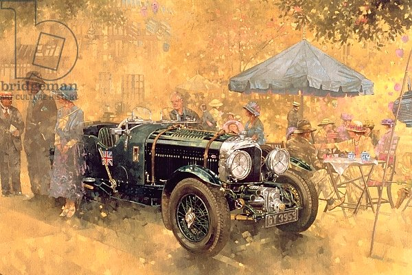 Garden Party with the Bentley