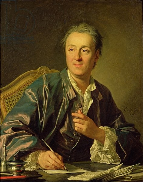 Portrait of Denis Diderot 1767