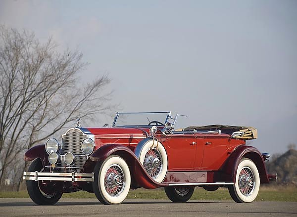 Packard Deluxe Eight Dual Cowl Phaeton (645) '1929