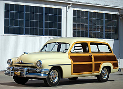 Постер Mercury Station Wagon '1951