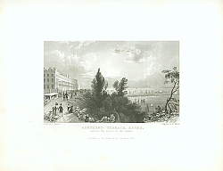 Постер Southend Terrace, Essex, Shewing the Mouth of the Thames