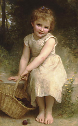 Постер Бугеро Вильям (Adolphe-William Bouguereau) Сливы