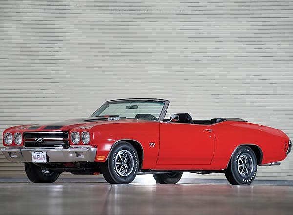 Chevrolet Chevelle SS Convertible '1970