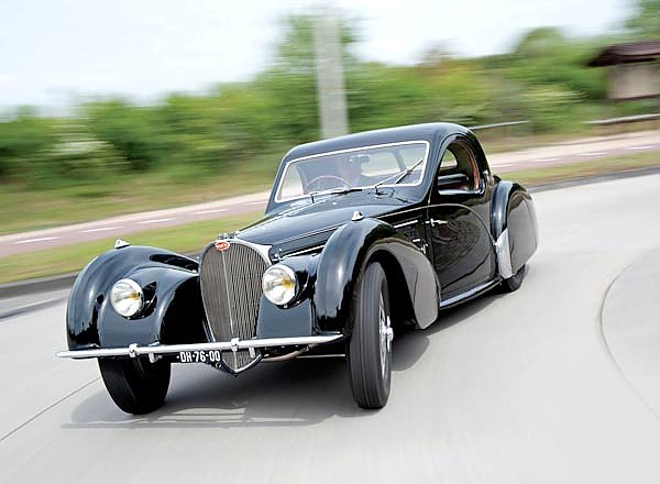 Bugatti Type 57S Coupe by Gangloff of Colmar '1937