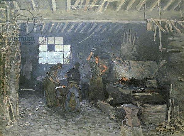 The Forge at Marly-le-Roi, Yvelines, 1875