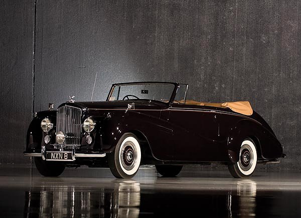 Bentley R-Type Drophead Coupe Park Ward '1953