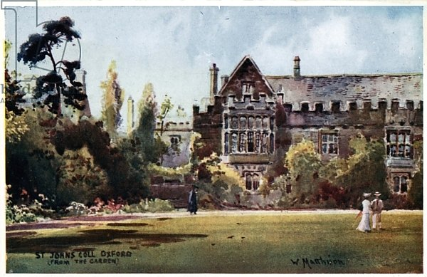 St John's College, from the garden