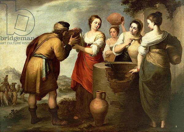 Rebecca and Eliezer at the Well, c.1665