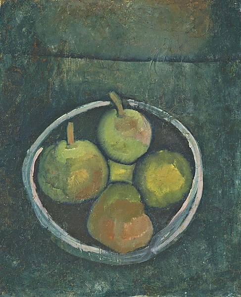 Still Life with Four Apples