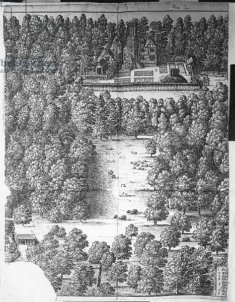 Boscobel House and Park, 1651