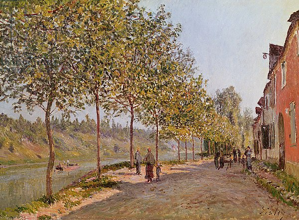 June Morning in Saint-Mammes, 1884