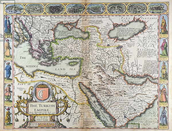The Turkish Empire, from 'A Prospect of the Most Famous Parts of the World', 1627