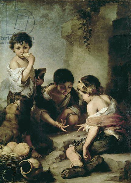 Boys Playing Dice, c.1670-75