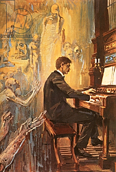 Постер Салинас Альберто Albert Schweitzer was an exceptionally fine organist