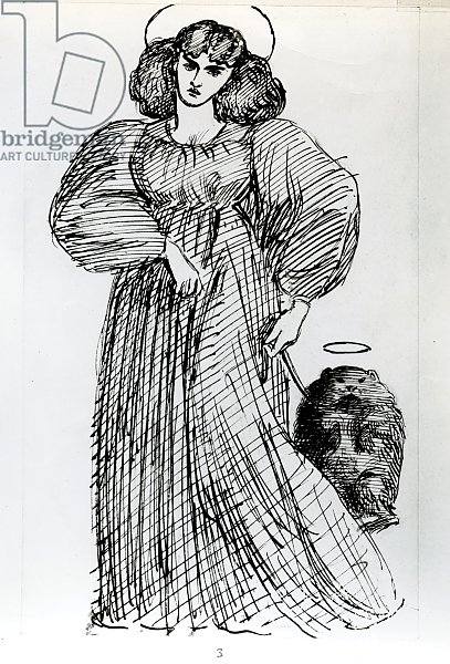 Mrs. Morris and the Wombat, 1869