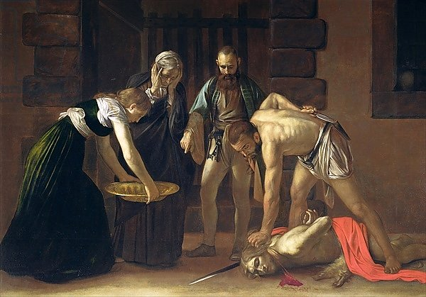 The Decapitation of St. John the Baptist, 1608 2