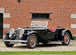 Постер Alvis Speed 20 Tourer by Vanden Plas '1934
