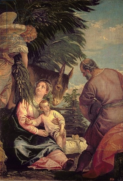 Rest on the Flight into Egypt 2
