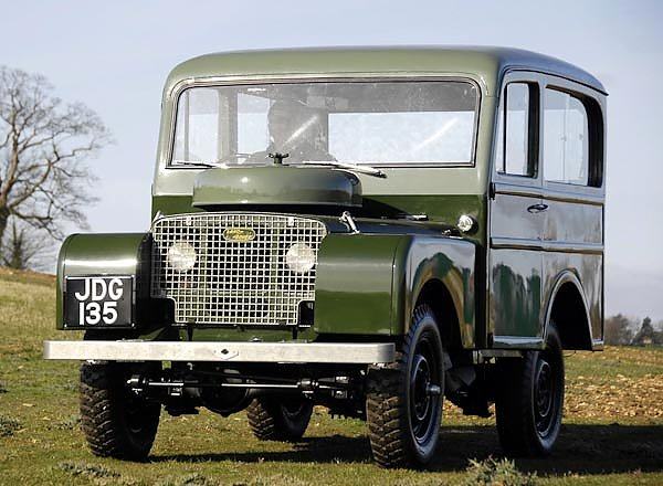 Land Rover Series I 80 Tickford Station Wagon '1948–58