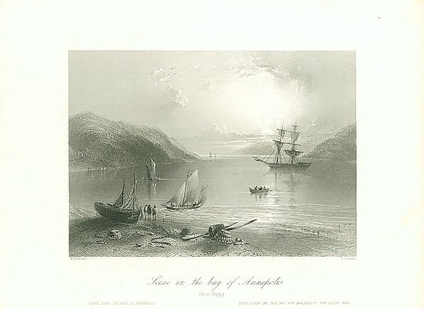 Scene in the bay of Annapolis