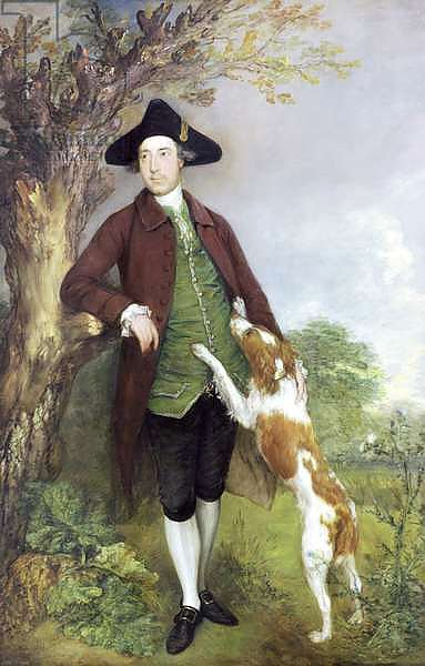 Portrait of George Venables Vernon, 2nd Lord Vernon, 1767 2