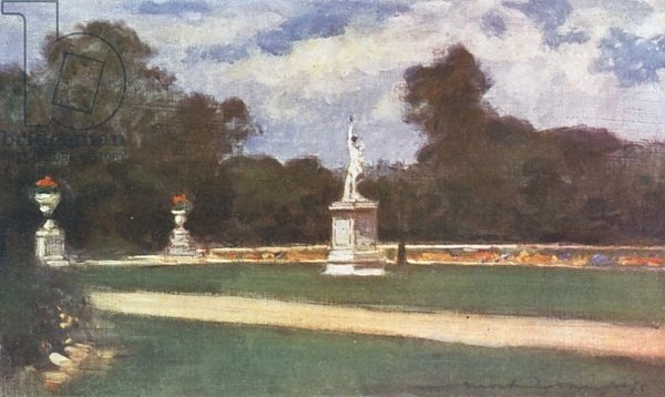 The Lawns in the Tuileries