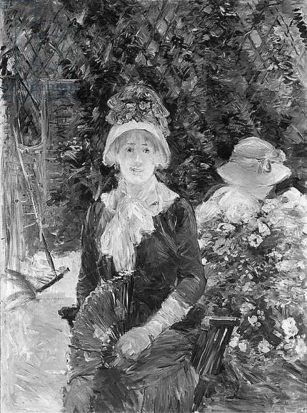 Young Woman in a Garden, 1883