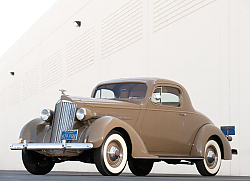 Постер Packard Six Coupe '1937