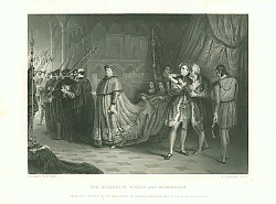 Постер The Quarrel of Wolsey and Buckingham