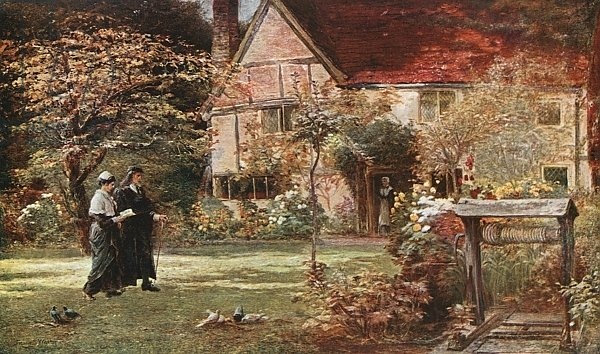 Milton's Cottage and Garden, Chalfont St Giles