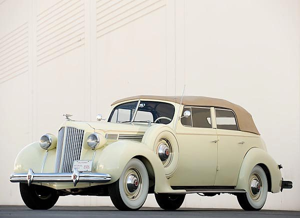 Packard Eight Convertible Sedan '1938