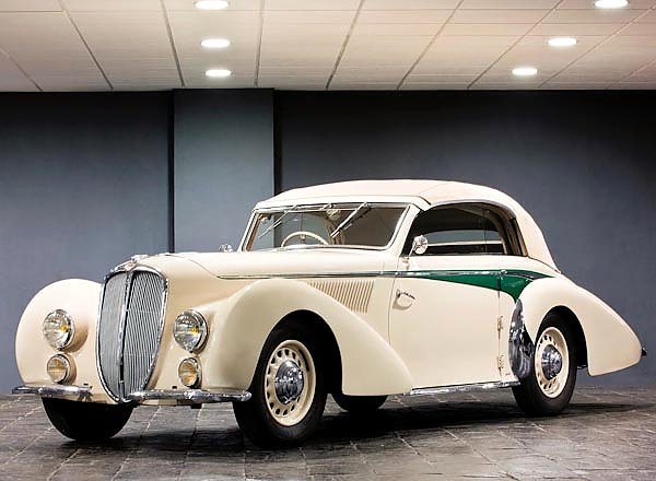 Delahaye 135 M Cabriolet by Langenthal '1938