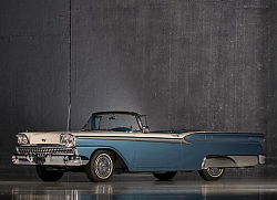 Постер Ford Galaxie Skyliner '1959