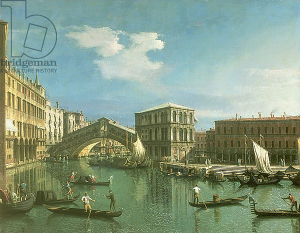 The Rialto Bridge, Venice 2