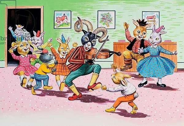 A party at Brer Rabbit's House