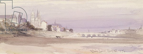 Blois on the Loire, 1856